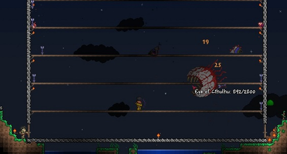 Knights of the Cardboard Castle » Terraria